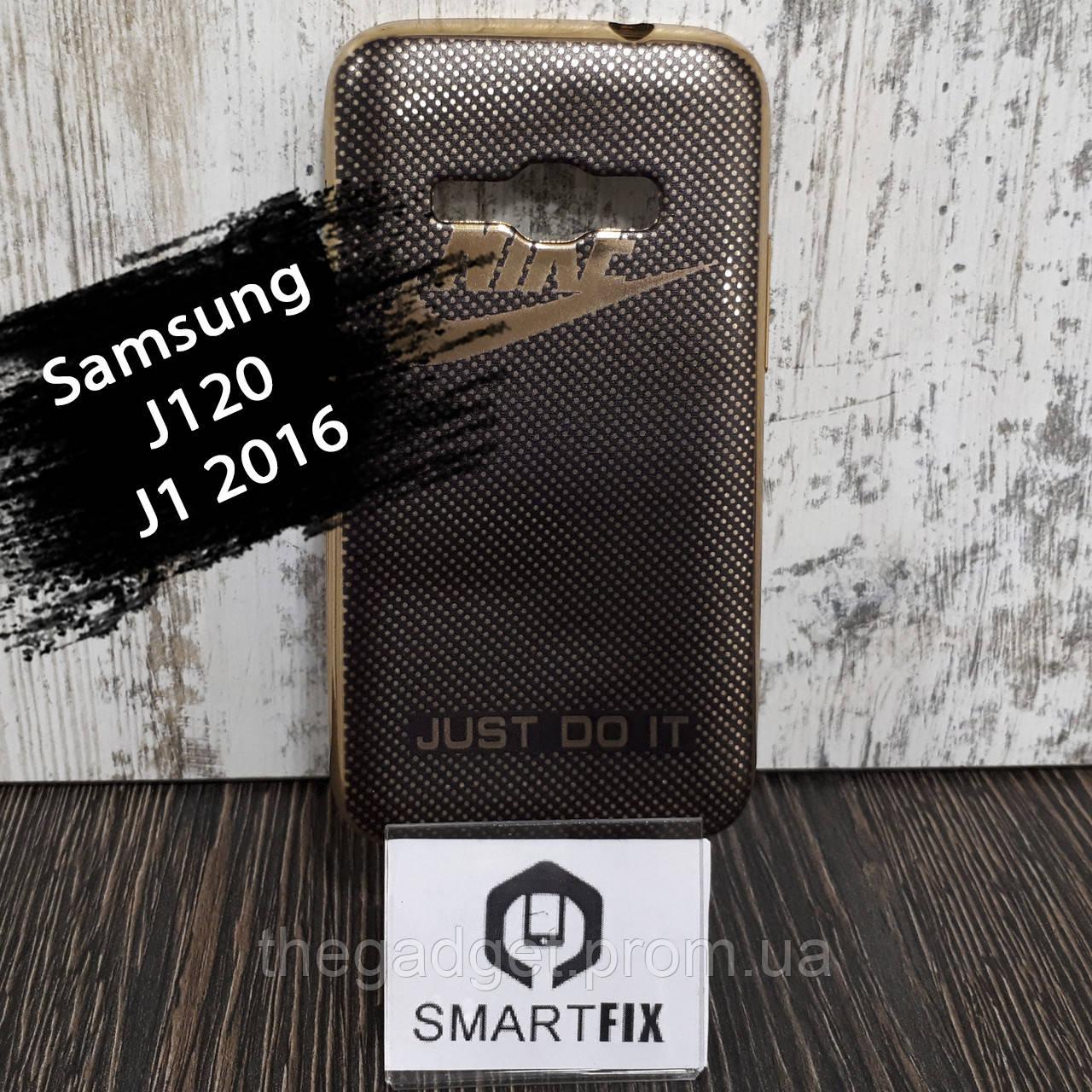 Чехол с рисунком для Samsung J1 2016 (J120) Марка автомобиля