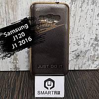 Чехол с рисунком для Samsung J1 2016 (J120) Марка автомобиля, фото 1