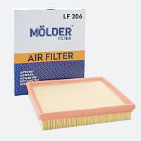 Воздушный фильтр MOLDER аналог WA6249/LX316/C2598 (LF206)