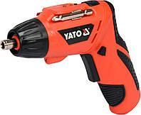 Отвертка аккумуляторная YATO 3,6 В 1,3 Ач YT-82760