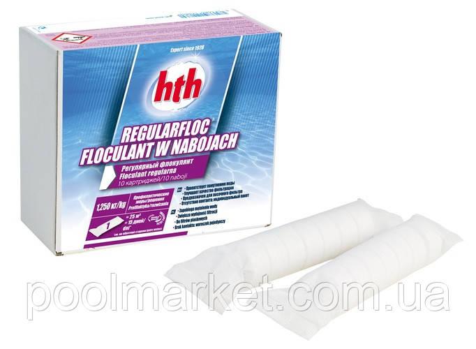 Флокулянт hth в картриджах 1кг