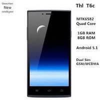 Смартфон ThL T6C, MTK6580, 1/8Gb, Android 5.1. Белый, фото 1