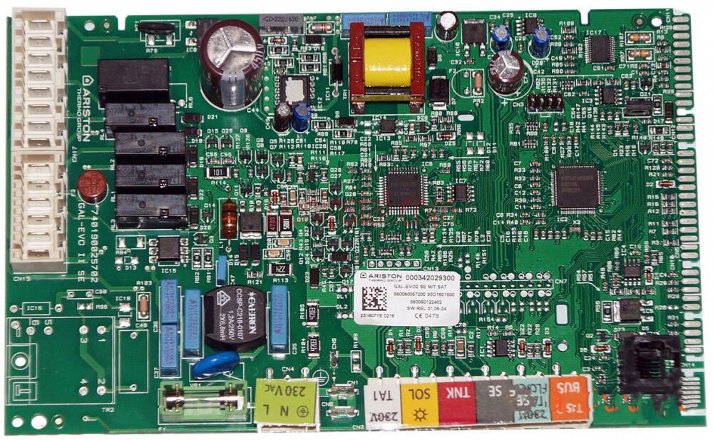 Плата управління на газовий котел Ariston ALTEAS X, CLAS X, GENUS X 65115783