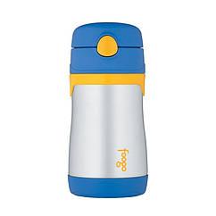 Бутылочка Thermos Foogo для детей из нержавеющей стали Blue 0.29L
