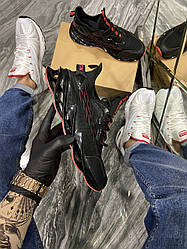 Мужские Кроссовки Suprime Black Red (Чёрный)