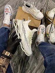 Мужские Кроссовки Suprime Triple White (Не Бренд) (Белый)