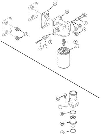 J943740, відсікаючий Клапан ф-ра с-ми охо., T8040-50/MX