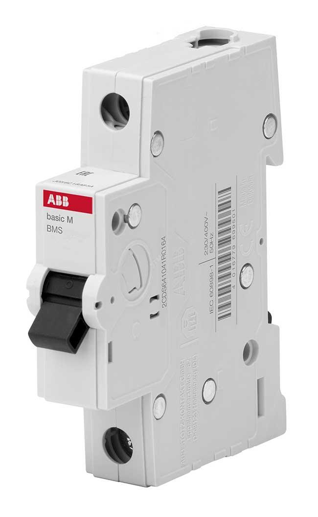 Автоматический выключатель 1P  6А 4.5 kA ABB BMS411B06