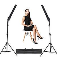 480Вт Набір постійного світла Visico MS-30LS-2 Double Kit для предметної, портретного фото або відео зйомки