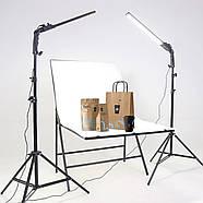 480Вт Набор постоянного света Visico MS-30LS-2 Double Kit для предметной, портретной фото либо видео съёмки, фото 3