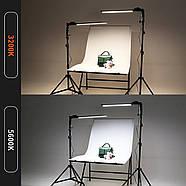 480Вт Набор постоянного света Visico MS-30LS-2 Double Kit для предметной, портретной фото либо видео съёмки, фото 2