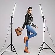 480Вт Набор постоянного света Visico MS-30LS-2 Double Kit для предметной, портретной фото либо видео съёмки, фото 4