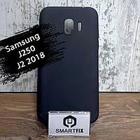 Силиконовый чехол для Samsung J2 2018 (J250) Черный