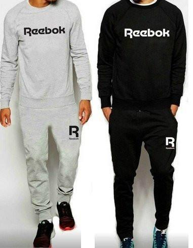 РАЗМЕР М Тренировочный мужской летний споривный костюм Reebok (Рибок)