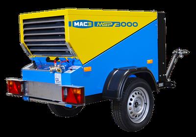 Компрессоры дизельные передвижные MAC3 (Франция)