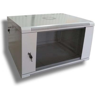 """Шкаф настенный Hypernet 4U 19"""" 600x600 (WMNC66-4U-FLAT)"""