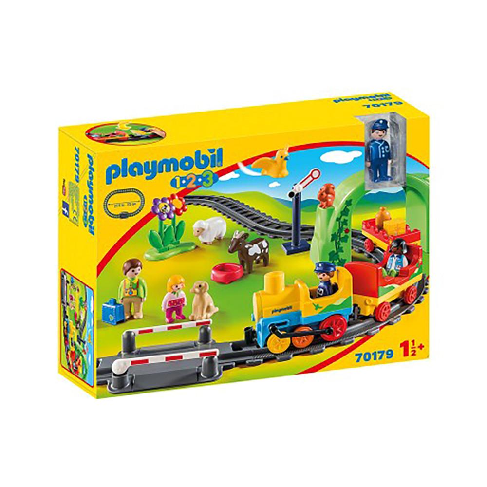 """Ігровий набір """"Моя перша залізниця"""" Playmobil (4008789701794)"""