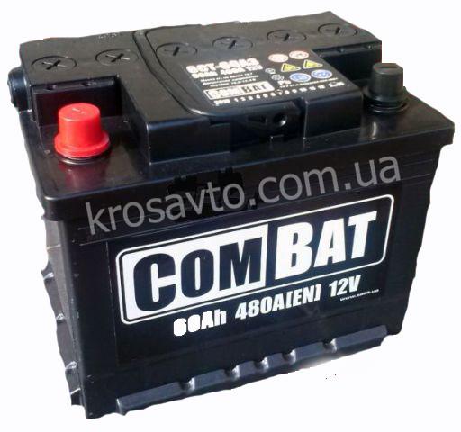 Аккумуляторная батарея  6СТ-60Аз Combat