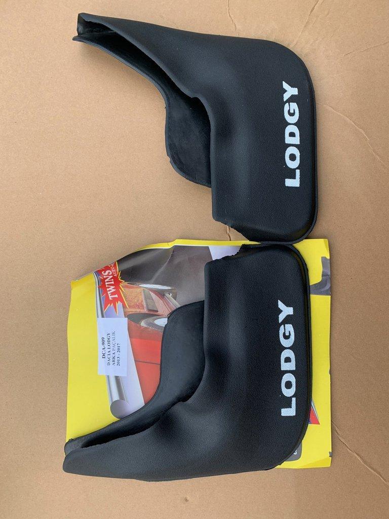 Задние брызговики (2 шт, Б-качество) Dacia Lodgy 2013↗ гг. Дачиа Лоджи