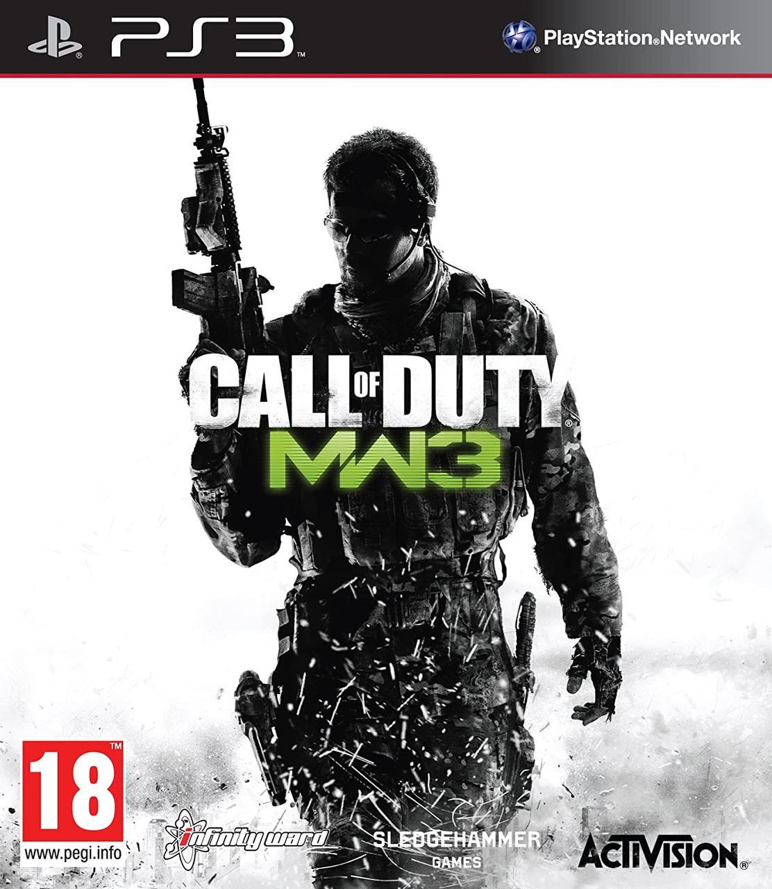Игра для игровой консоли PlayStation 3, Call of Duty Modern Warfare 3 (БУ)