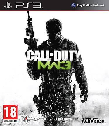Игра для игровой консоли PlayStation 3, Call of Duty Modern Warfare 3 (БУ), фото 2