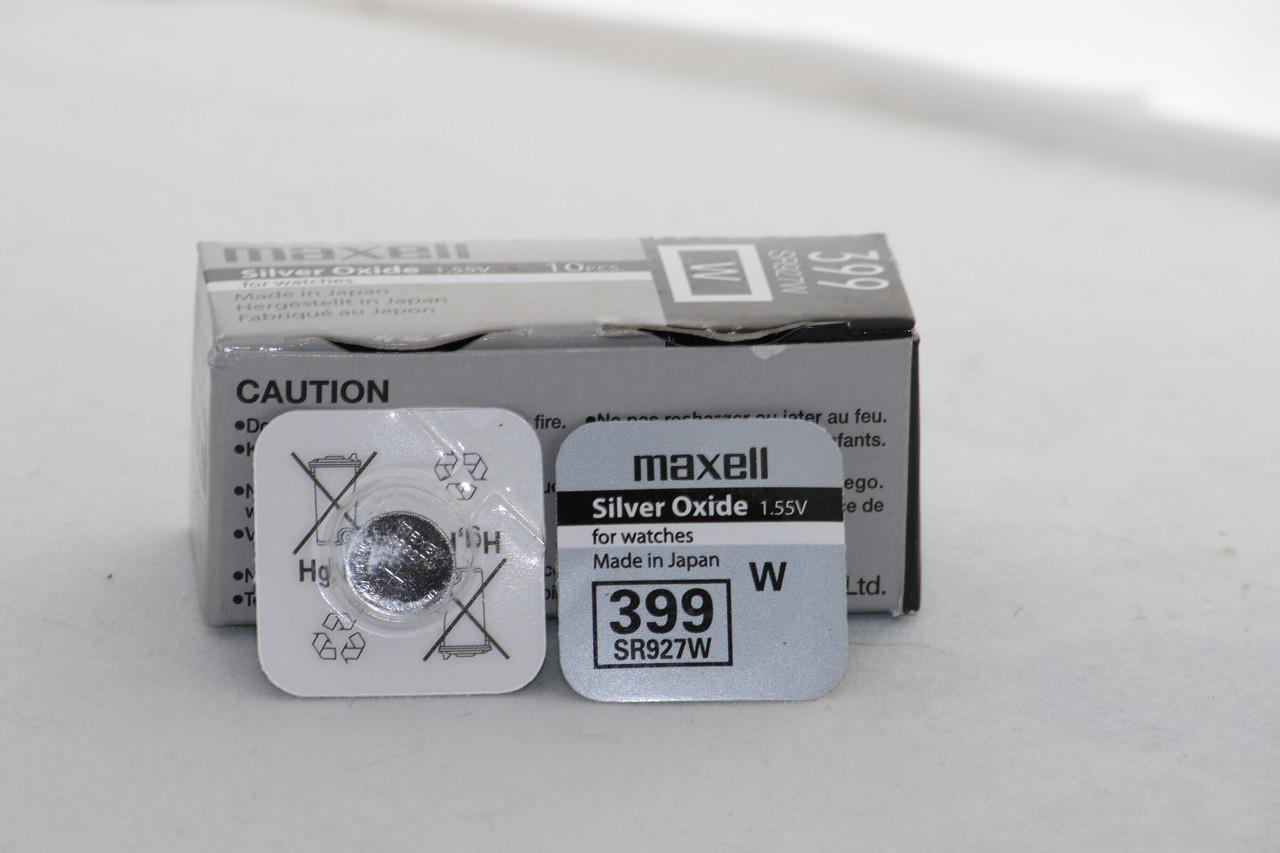 Часовая батарейка Maxell SR927W (399)