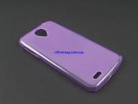 Чехол TPU для Lenovo S820  фиолетовый