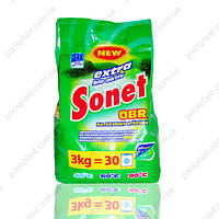 Стиральный порошок SONET 3 кг.