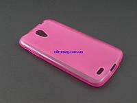 Чехол TPU для Lenovo S820 розовый
