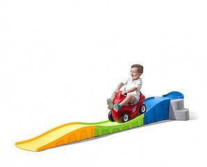 """Горка с машинкой """"Веселая дорога"""" Step2 - CША - дорожка для езды 3 метра (8633)"""
