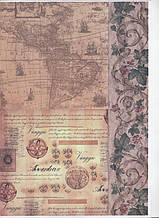 Карта для декупажа №27