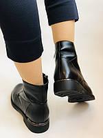 Polann. Женские осенние ботинки на среднем каблуке. Натуральная кожа. Р. 35, 37, 38, 39 40.Vellena, фото 9