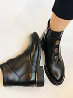 Polann. Женские осенние ботинки на среднем каблуке. Натуральная кожа. Р. 35, 37, 38, 39 40.Vellena, фото 8
