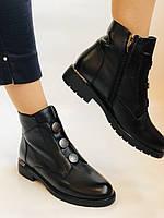 Polann. Женские осенние ботинки на среднем каблуке. Натуральная кожа. Р. 35, 37, 38, 39 40.Vellena, фото 2