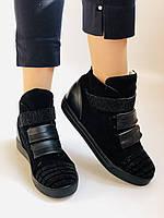 Женские ботинки. На скрытой танкетке. Натуральная кожа. Высокое качество. Berkonty. Р. 37,39,40. Vellena, фото 7
