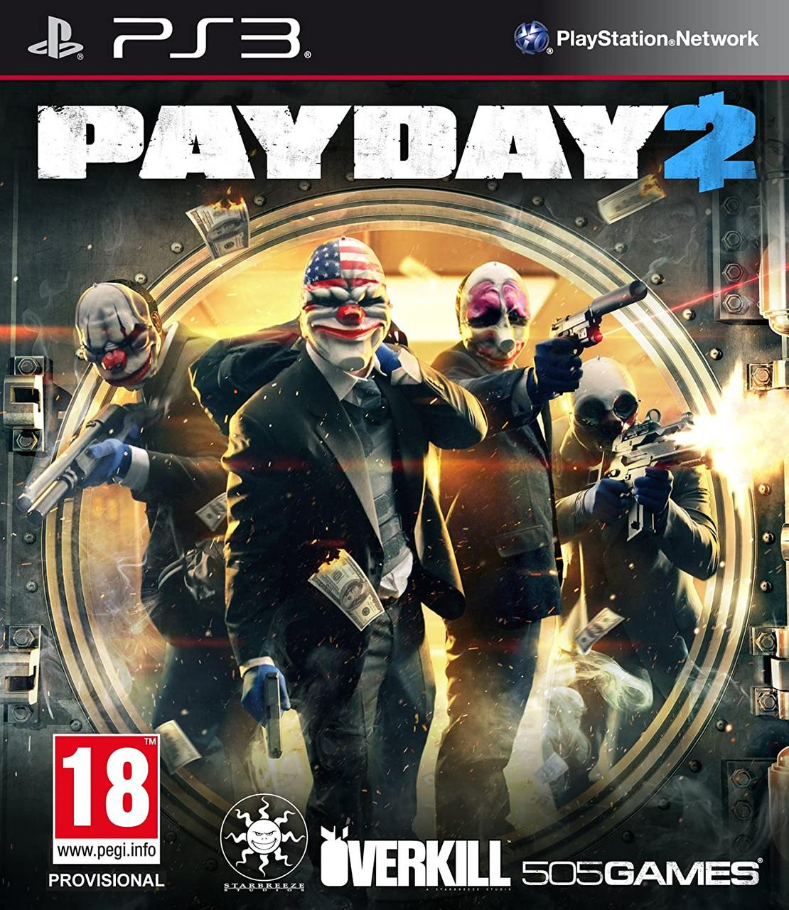 Игра для игровой консоли PlayStation 3, Payday 2 (БУ)