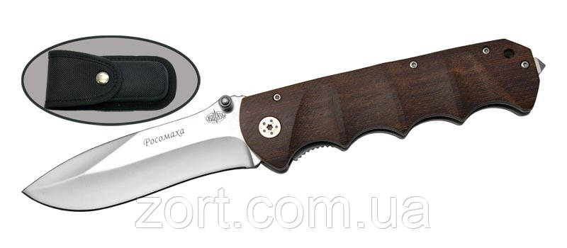 Нож складной, механический Росомаха