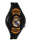 Дитячий наручний годинник для підлітків ФК Реал Мадрид, чорний циферблат., фото 5