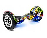 ГИРОСКУТЕР SMART BALANCE PREMIUM PRO 10 дюймів Wheel Хіп хоп TaoTao APP автобаланс, гироборд Гіроскутер, фото 2