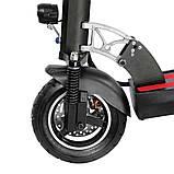 Електросамокат з сидінням Kugoo М4 Jilong Чорний (Black). Електросамокат Куго М4 чорний. Електроскутер, фото 2