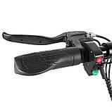 Электросамокат с сиденьем Kugoo М4 Jilong Черний (Black). Електросамокат Куго М4 чорний. Электроскутер, фото 5