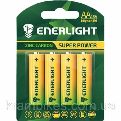 Батарейка AAA Enerlight - солевая Super Power R6 BLI