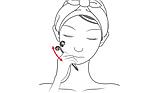 Роликовый массажер для лица Wellderma Face Lifting Dark Silver Roller, фото 4