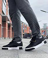 Мужские кроссовки Puma Cali Black \ Пума Кали Черные \ Чоловічі кросівки Пума Калі Чорні
