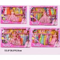 """Кукла """"Барби"""" с набором одежды 8003-1/3/5/7"""