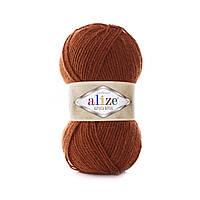 Пряжа Альпака Ализе ALPACA ROYAL терракотового цвета 36
