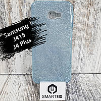 Блискучий чохол для Samsung J4 Plus (J415) Синій, фото 1