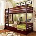 Ліжко двох'ярусне дерев'яне Дует (бук), фото 4