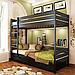 Кровать двухъярусная деревянная Дуэт (бук), фото 5