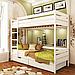 Кровать двухъярусная деревянная Дуэт (бук), фото 6